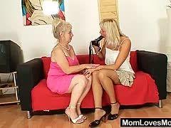 Junge verführt alte Lesbierin